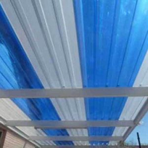 BLUE AND OPAL POLYCARBONATE IBR